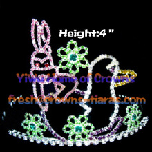 Lovely Rabbit Crystal Pageant Crowns