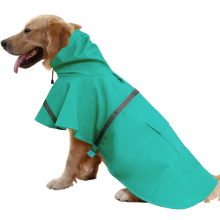 Ajustable Large Dog Raincoat