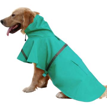 Ajustable Large Dog Raincoat