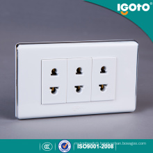 American Style Electric Universal Triple Receptacle Outlet