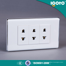 Universal Universal Universal Triple Receptacle Outlet