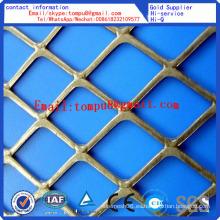 Malla metálica expandida galvanizada de la venta caliente / malla de metal ampliada barata