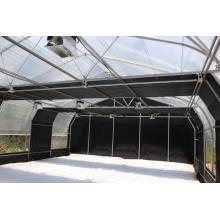 Invernadero de policarbonato de apagón automatizado comercial Invernadero de apagón Invernadero de privación de luz