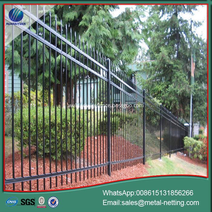 garden metal steel fence