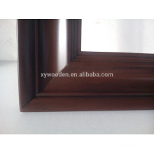 China wholesale square wooden mirror