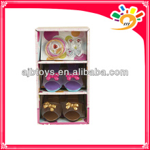 Happy life toys,princess shoes toy,plastic toy shoe