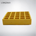 Fiberglass Grating Panels dengan Clips