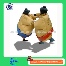 Kids and adults pvc cheap inflatable sumo wrestling suits for sale/foam padded sumo wrestling suits