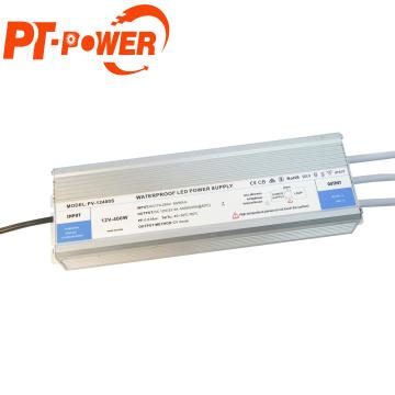 led lighting driver 400w IP67 Waterproof LED Power Supply120V ac to 12VDC Transformer