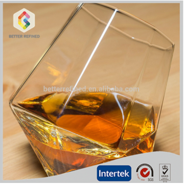 hand blown clear whisky wine glass cup