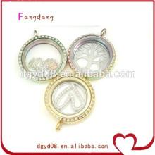Les pendentifs de collier flottant de mode fournissent les meilleurs pendants d'ami