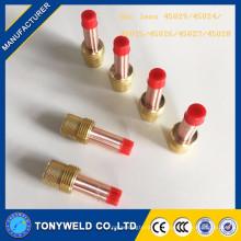высококачественные газовые линзы 45v24 TIG из wp1718/26 TIG сварки пистолет