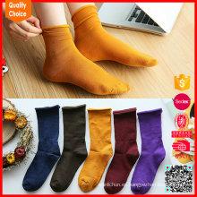 CALIENTE Venta al por mayor personalizadas de colores livianos coloridos calcetín