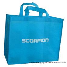 Синий Нетканые рекламные сумки