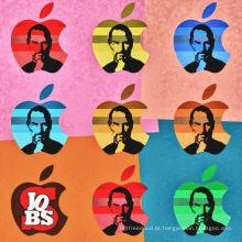 Steve Jobs da Apple Pop Art