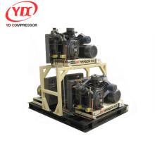 unité de compresseur à piston moyenne pression équipée d'une soupape de vidange de condensat automatique (modèle d'adaptation de l'industrie des animaux de compagnie)