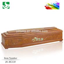 делая Китай кремации гроб JS-BG125