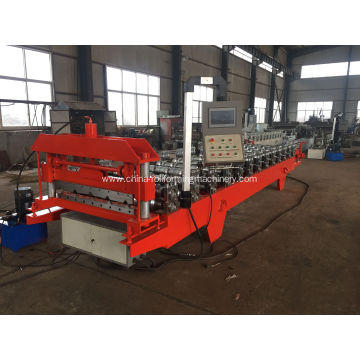 Wall and roof tle roll forming machine