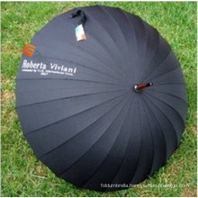 Black High Quality Adertising Golf Umbrella (YS-G1011A)