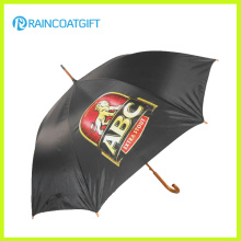 Werbung großer Golf-Förderung-Regenschirm