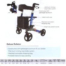 De lujo de la moda Rollator