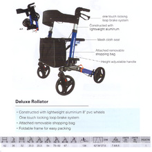 Deluxe Fashion Rollator