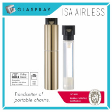 ISA 30 ml Twist up Nachfüllbare Airless Lotion Flasche
