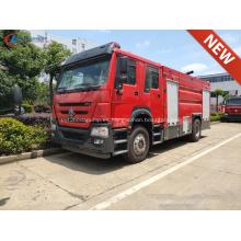 Nuevo HOWO T5G 330HP Camiones de bomberos de agua