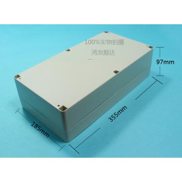 Caja de plástico 355x185x97 mm (ECL350x180H90)