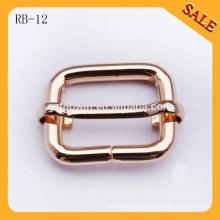 RB12 Profissional feito liga fivela metal saco fivela pulseira ajustável