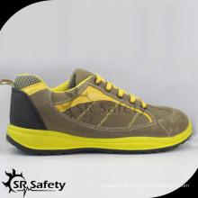 Chaussures de sécurité en cuir de daim en faux-ciel