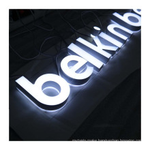 3D Acrylic Sign  LED Channel Letters Mini Acrylic Letter Sign Outdoor Indoor Advertising Waterproof Billboard
