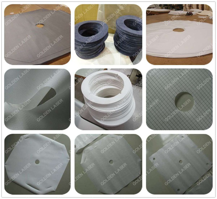 filter cloth laser cutting