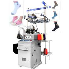 Machine de marque de la Chine pour faire des chaussettes similaires machines à chaussettes lonati