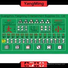 Disposição da mesa de Sic Bo (YMSZ01G)