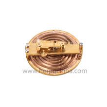 braçadeira no medidor de fluxo de líquido de calor ultrassônico tipo tubo de linha