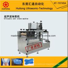 Máquina ultrasónica de fabricación de Oversleeve de PE