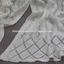 hot sale fashion eyelet knitting multipurpose winter cashmere scarf scarf for dubai