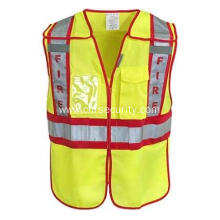 Hi-Visibility Public Safety Fire Vest