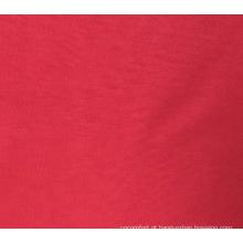 Tela impermeável da folha de cama da tintura de Microfiber do poliéster 100%