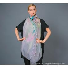 Алашанский камвольный кашемировый шарф, мягкая / роскошная текстура