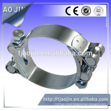 Double bolts super hose clamp
