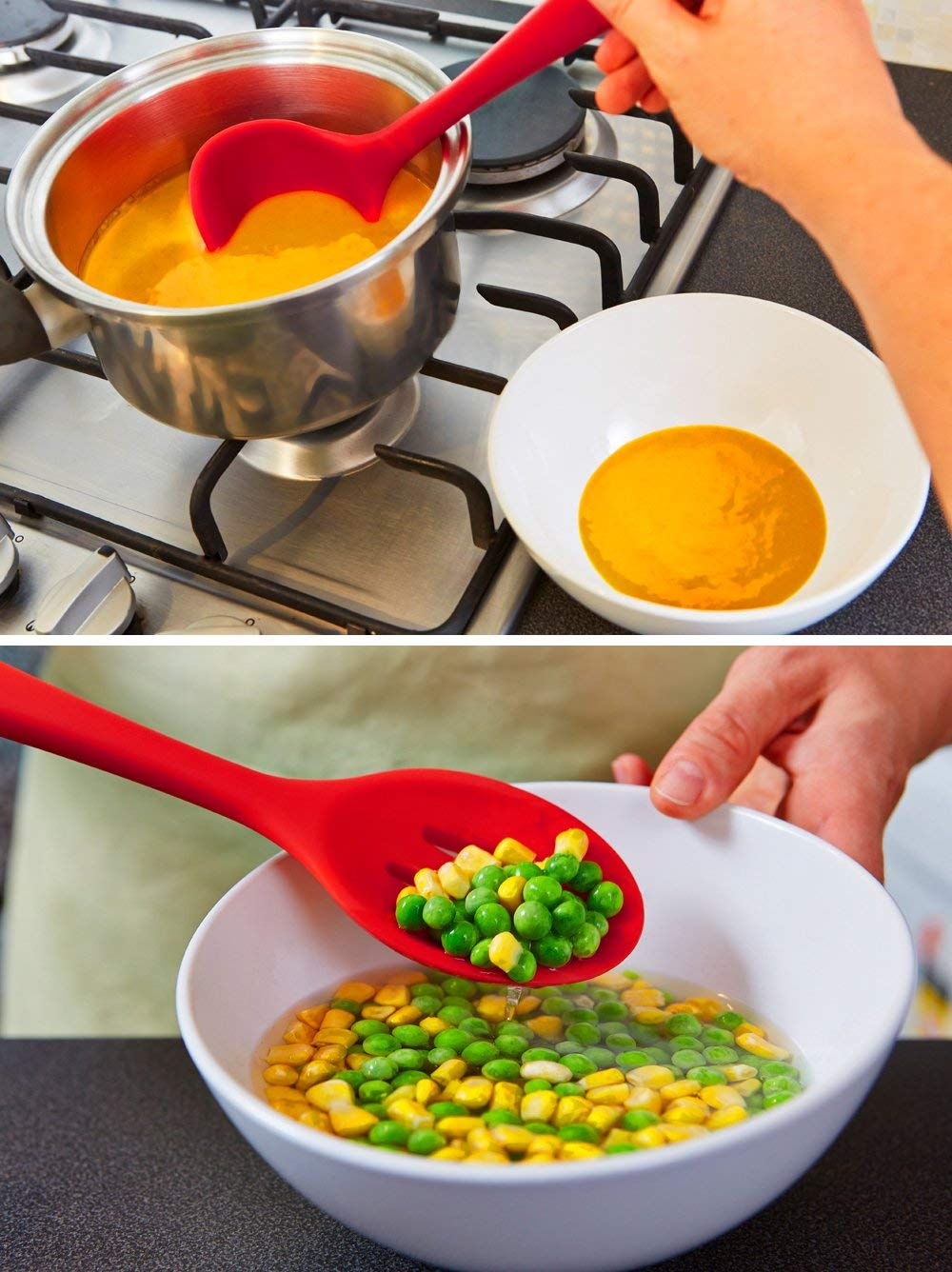 5PCS Silicone Utensil Set