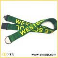 Sarı Logo Yeşil Bant Kordonunu Sergiye Yazdırma
