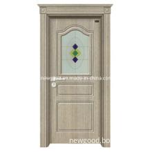 PVC Wooden Door Set for Turkey, PVC Door Set, PVC Faced MDF Door Set