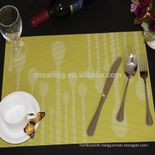 waterdrop placemat for dining table