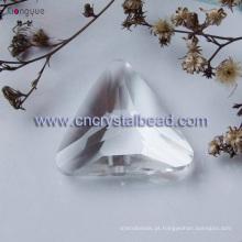 Lustre gota triângulo de cristal do grânulo jóia de cristal do grânulo