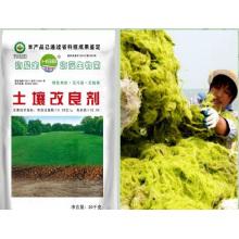 Extrato de planta orgânica de extração de algas microbianas para fertilizante do solo