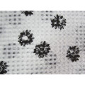 Polyester Check Organza Fabric for Skirt