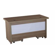 Bureau de bureau de mélamine pour trucs avec tiroir mobile